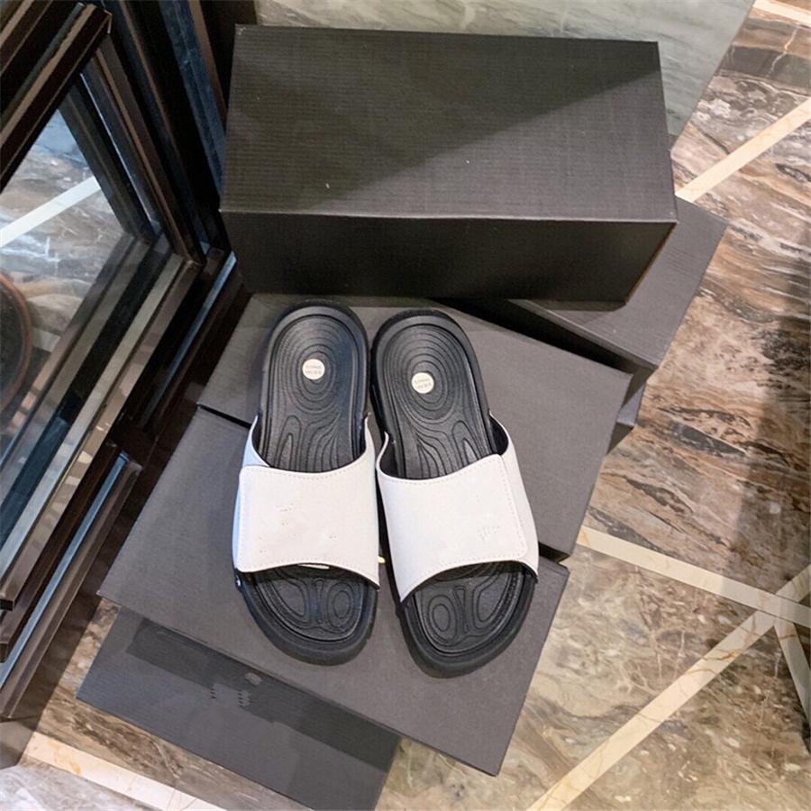 2020 Nova Chinelos elástico transparente Palavra Com Fina Seção Salto Alto 3 cores Mulheres de Comércio Exterior sapatos tamanho grande 35-43 # 968