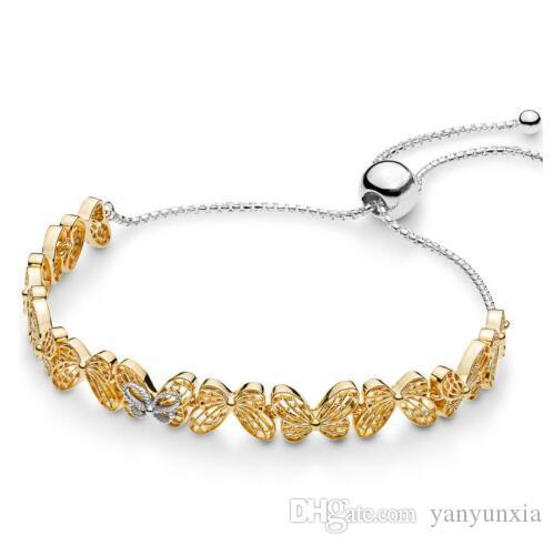 Infinite Love 925 Sterling Silver Shine Openwork Charm Bead Fits Bracelet Chain