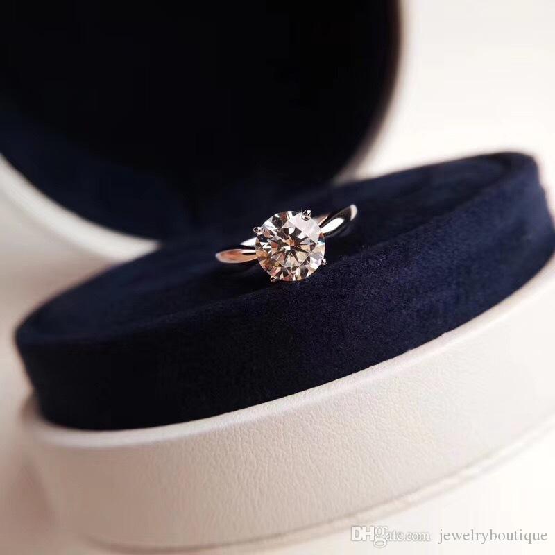 Роскошное качество панк-группа кольцо с полукруглым цельным бриллиантом и штампом Шарм кольцо ювелирные изделия рождественский подарок ювелирных изделий бесплатная доставка PS6