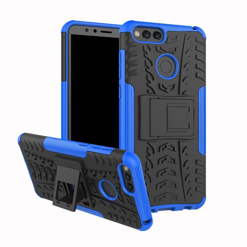 화웨이 명예 7X 견고한 듀얼 레이어 충격 방지를위한 명예 7 X 커버 케이스에 대한 휴대 전화 액세서리 휴대 전화 케이스 커버