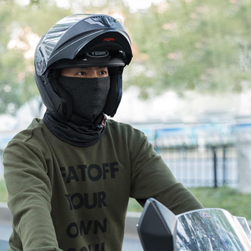 Toptan Bisiklet Airsoft Windproof Nefes Yumuşak Tak Kadife Kış Yüz Headgear'ı Maske Isınma Maske Termal Polar Boyun Hat Caps