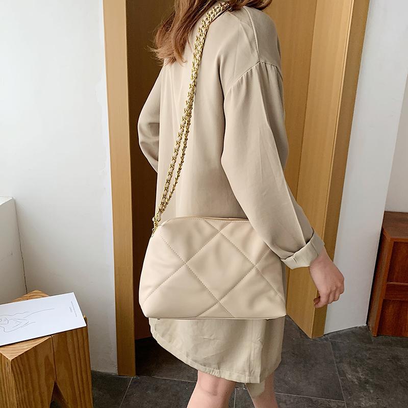 2020 bolsos de hombro de la calidad de la moda buena nueva de la llegada del envío libre de la manera totalizador de las mujeres Bolso de cuero partido de las señoras de moda Taoyuan / 04