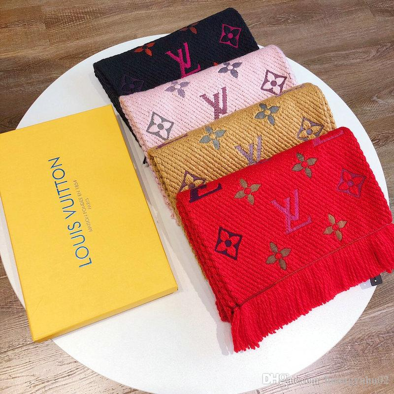 Il 2019 nuova sciarpa sarà unisex sciarpa, eleganti e alla moda delle donne sciarpa e misto lana sarà disponibile in 4 colori