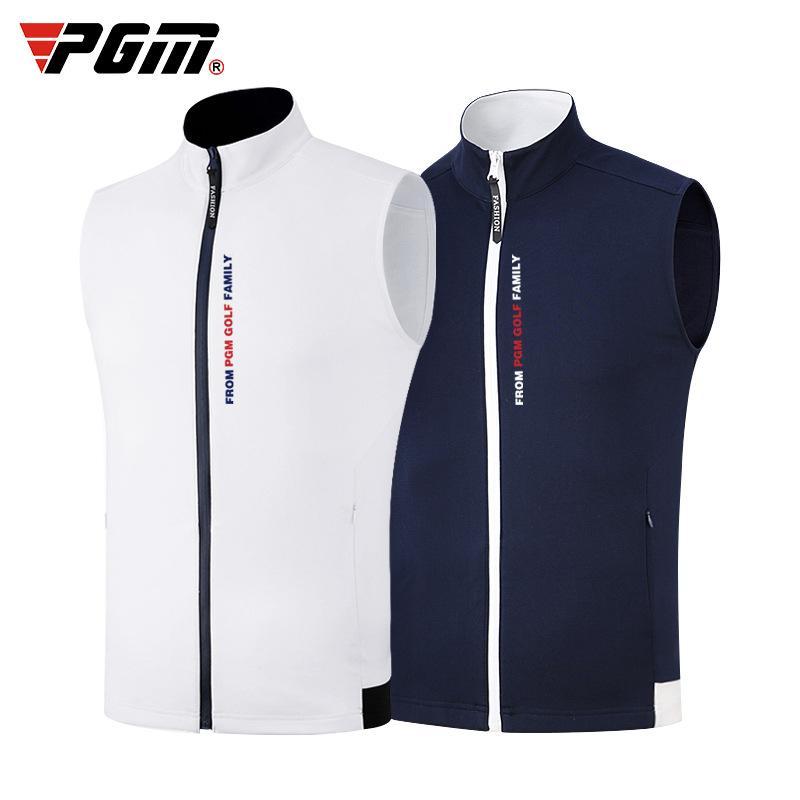 Veste de golf pour hommes Zipper coupe-vent extérieur coupe-vent Gilet Chaud Sport d'hiver Outwear Homme épais Vêtements de golf D0576