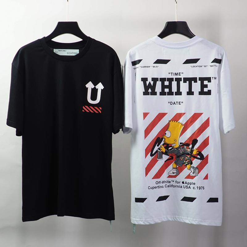 2020 nuevo logotipo del estilo de la moda camiseta de algodón cuello redondo manga corta de los hombres de alta calidad de la chaqueta de cuero de lujo de la camiseta ocasional Sh9