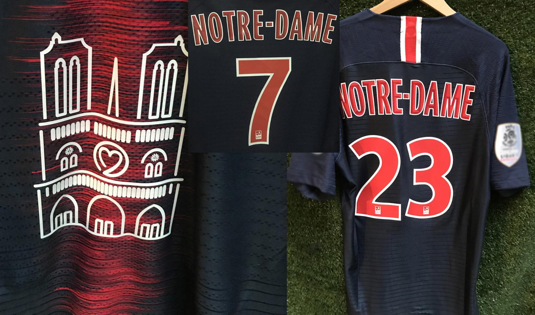 2019 jogo desgastado jogador problema notre dame jersey maillot mbappe neymar jr di maria verratti draxler com tag de lavagem