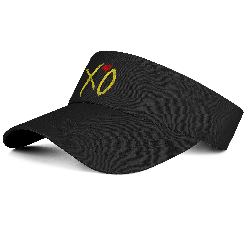 Die Weeknd XO Heart Frau einstellbar Tennis Hut Baseball kühlen Custom Retro-Team am besten: Kappe Side Gesicht Bunte Malerei Ausgabe
