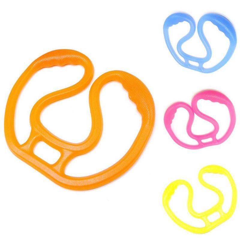 Résistance Fitness Band 8 mot bande élastique extenseur silicone Fitness Yoga Stretching poitrine formation