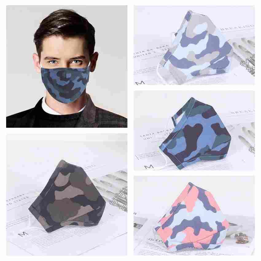 Adult And Kids Camouflage Face Mask Anti Dust PM2.5 Protective Mask Cotton Washable Reusable Face Mask ZZA2384