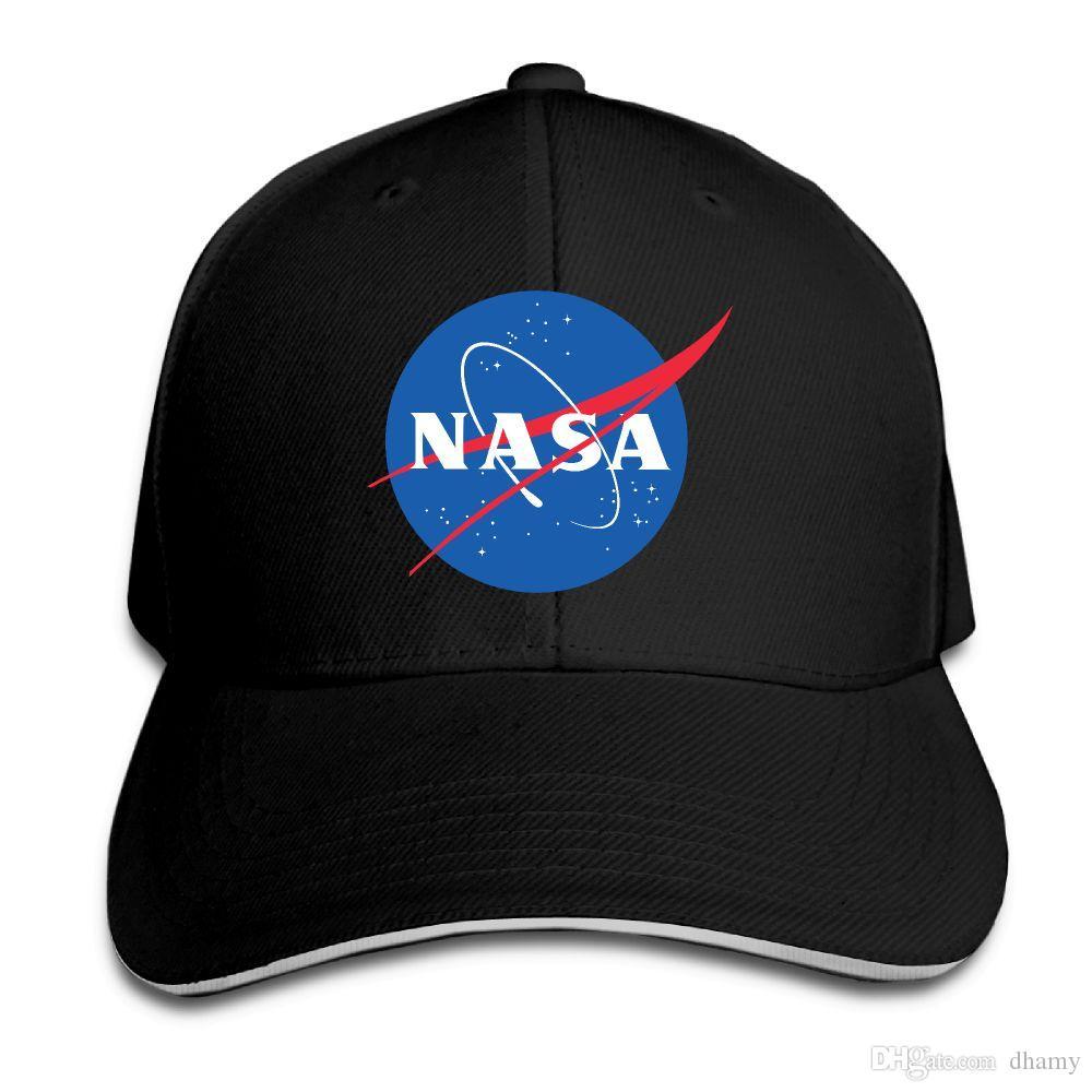 Gorra de béisbol Impresión de la NASA Gorras de béisbol para mujer de Hip Hop para hombre Gorras de béisbol ajustables Gorros Hombre Sombrero Femal