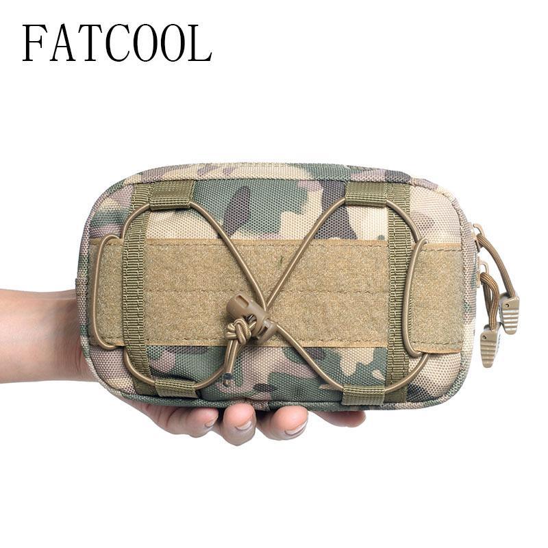 Táctica la cintura del paquete delicado hombro bolsa de tela Oxford 1000D Mensajero bolso colgante en Fuentes de caza que acampa Crossbody