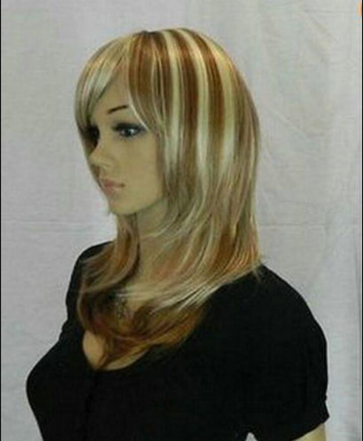 PERUK Son Yeni Kısa Sarışın kadının saç Peruk SHAOBNILV369