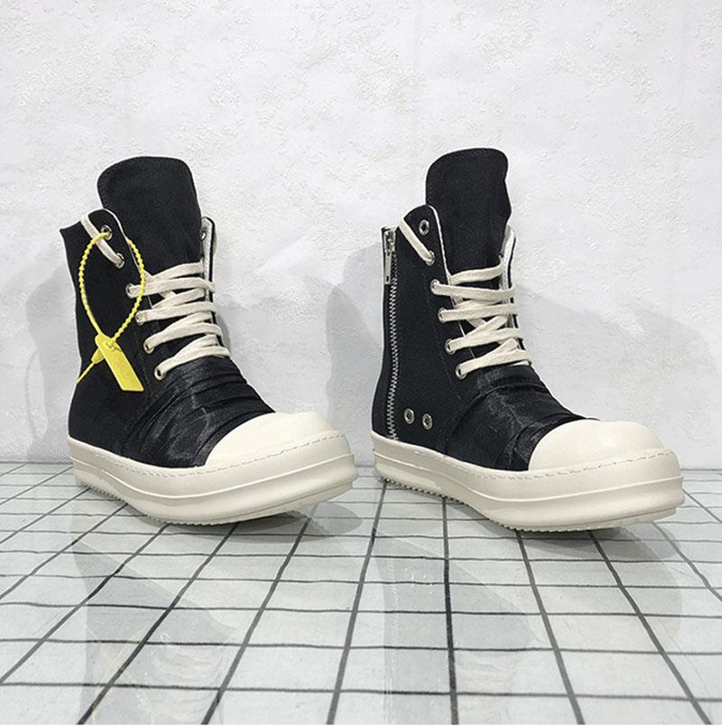 RO Hombres Botas Casual Tamaño masculino grande zapatos de lona respirable del verano top zapatos 8 # 20 / 20D50