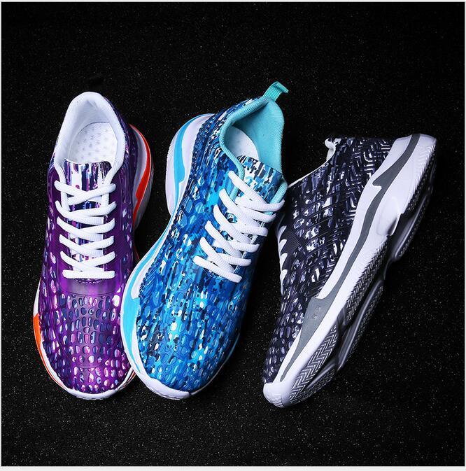 2020 весна новый дизайнер пара мода дышащие кроссовки женская обувь камуфляж сетка мужская повседневная мужская обувь