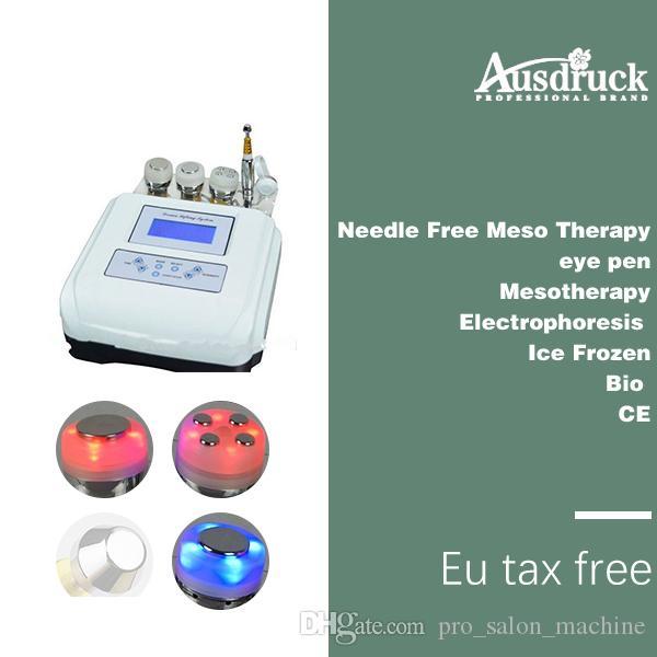 EU الضرائب المجانية بالموجات فوق الصوتية مدلك الجلد تشديد الفوتون تجديد إبرة الحرة mesotherapy الجسم آلة العناية بالوجه جهاز مكافحة الشيخوخة