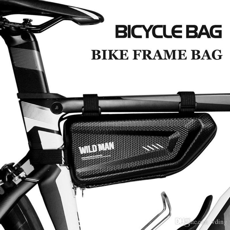 Saddle Bag Rainproof Shell Bags Bag Cycle Bag Top Tube Bike Handlebar WILD Mtb Tool MAN Cycling Accesorios Hard Bicycle Kqjch