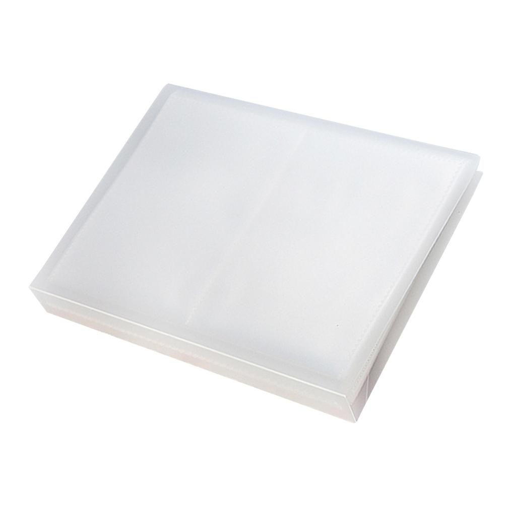 1 pz Nail Sticker Organizer Impermeabile Facile da Usare 20 Fogli Resistente Stenicls Holder Stenicls Binder Nail Sticker Binder