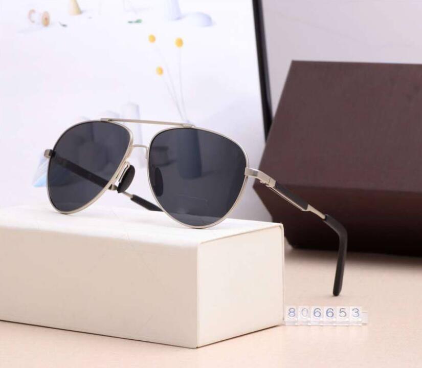Nueva lujo para hombre Mujer Lentes de sol 20SS playa de la manera gafas de sol UV400 Modelo 806653 5 colores de alta calidad