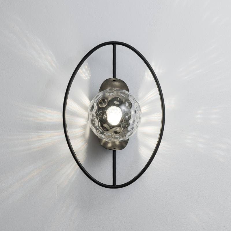 Kapalı Modern duvar yatak odası duvarı ışık ayna ön ışık duvar lambası banyo cam E27 lamba kafasının lambaları
