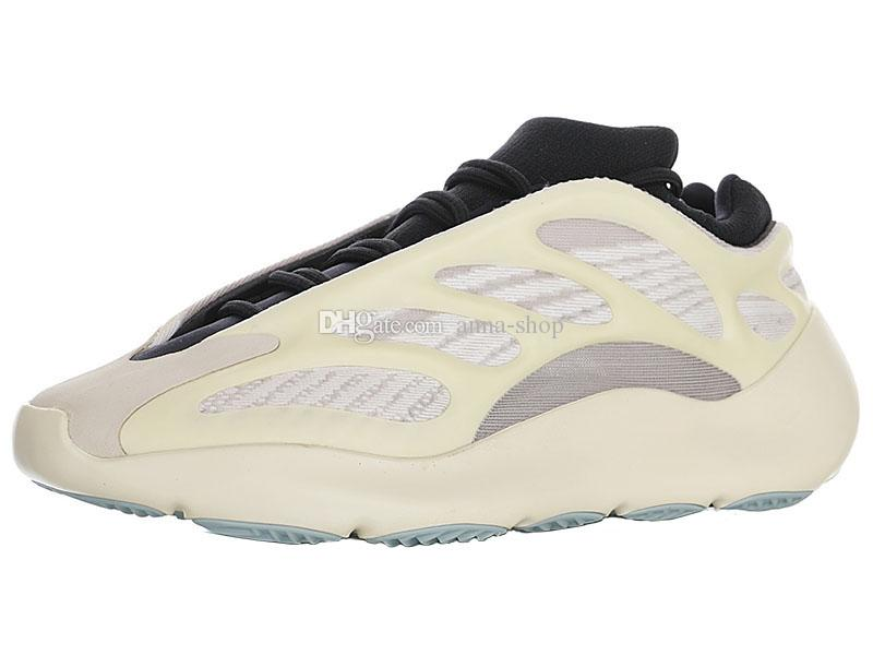 Kanye West Schiuma Runner 700 V3 Sneakers per Scarpe uomo kanyewest 700V3 sport degli uomini di scheletro bianco scarpe da corsa uomo Luce da ginnastica maschile scarpe