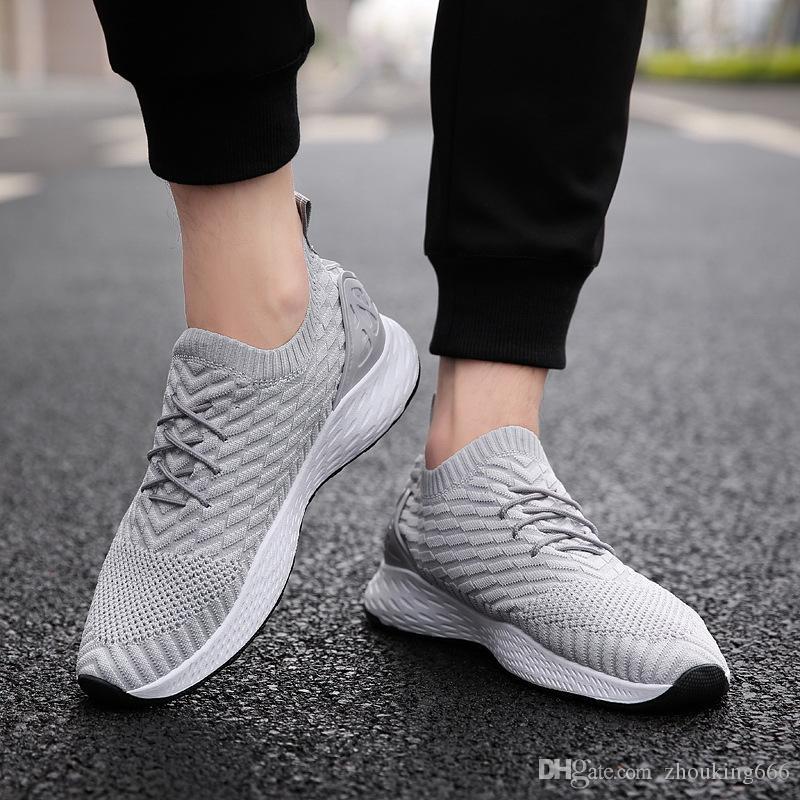 Мужская обувь, подходящие для весна, лето, осень и зимние сезоны спортивных спортивной обуви износостойких Non-Slip мужской повседневной обуви