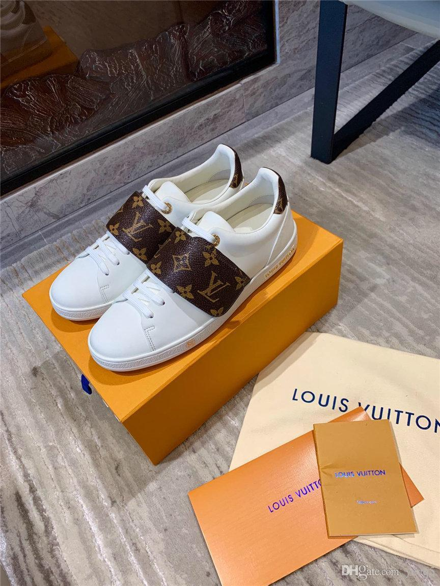 Casual AYAKKABI Beyaz YECQ5 kadar 19FW SICAK KADIN Sneakers 2020 Moda Breathble Vulkanize AYAKKABI KADIN Pu deri Platformu AYAKKABI KADIN Lace
