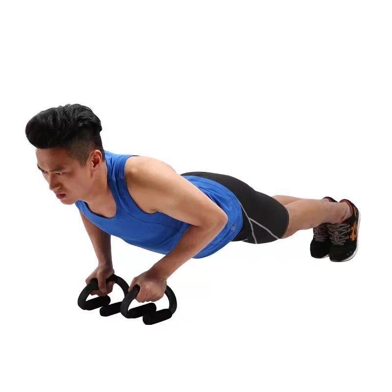 Push Up stand Prova Indoor Fitness Equipment Além disso Equipamento Desportivo S Tipo Conveniente Push-Up Material Aço espessamento Foam