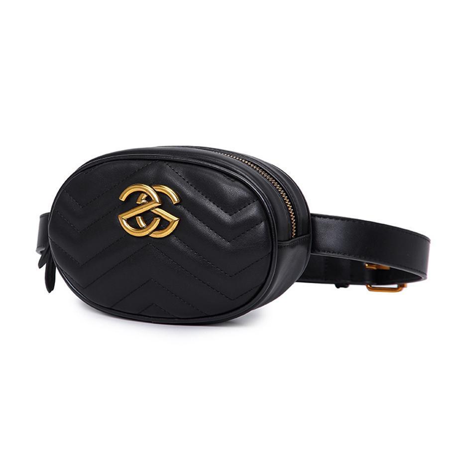 2019 Les sacs de taille de créateurs de corps transversale womens sacs à main sacs sac à bandoulière sac en cuir pochettes d'emballage