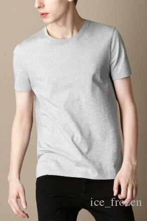 Uomini New cotone di estate camice casual Polo Horse Ricamo Inghilterra L'uomo d'affari manica corta supera i T Londra Brit T-shirt Nero Bianco
