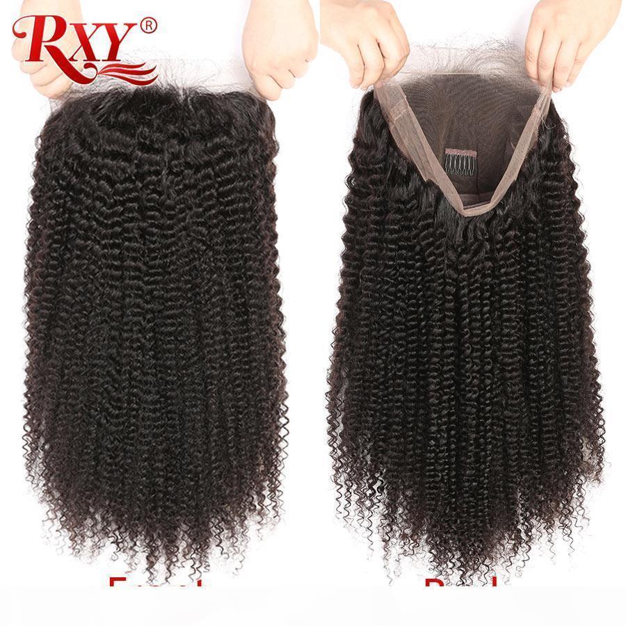 Las pelucas de pelo humano rizado Una peruana de encaje completa pelucas afro rizado rizado del cabello humano Negro Para Mujeres peruano rizado rizado pelucas llenas del cordón