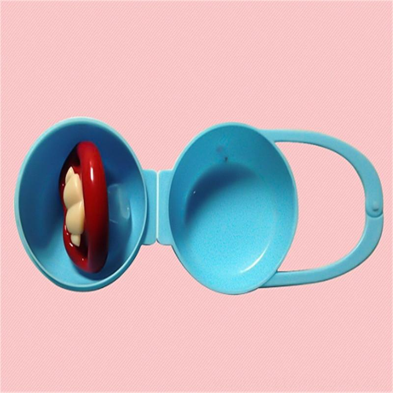 Baby Hot Sale Soother Container Holder Pacifier Box Travel Storage Case Safe Holder Pacifier PP Plastic Box