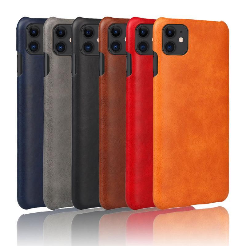 téléphone en cuir PU cheval fou pour iPhone 12 mini 11 x pro xr xs max 8 7 6 plus la couverture Slim Back pour Samsung S10 PLUS NOTE 9 10 PRO