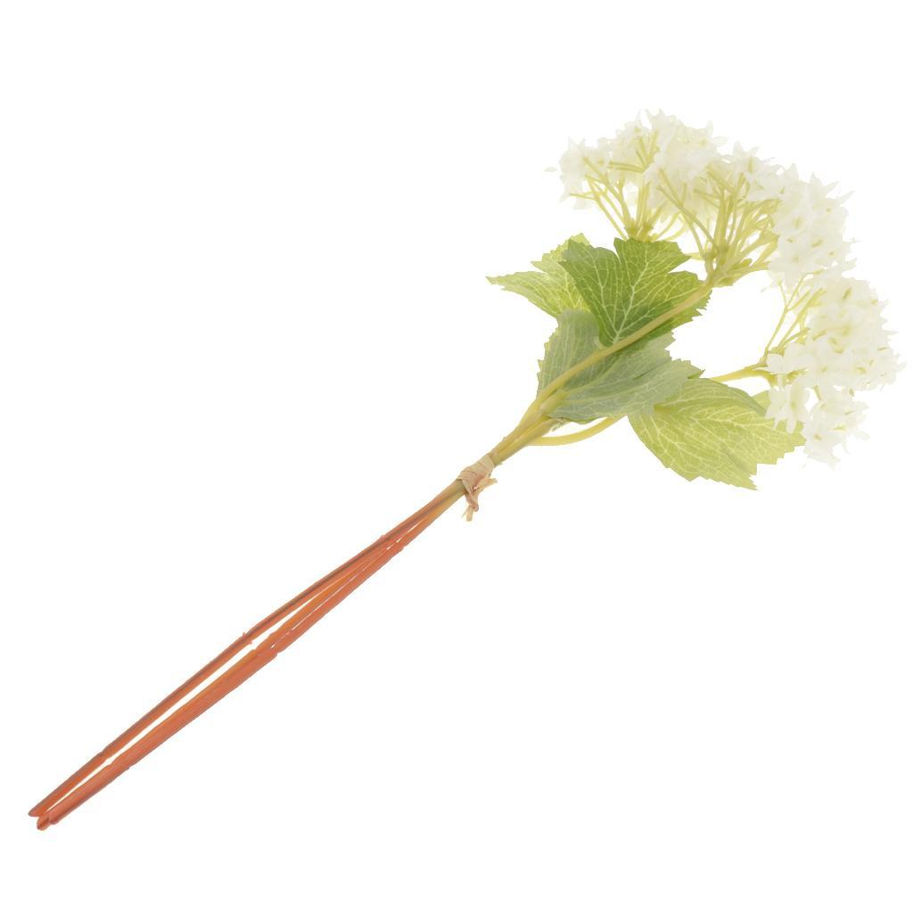 Mini Hydrangea Silk Blumenstrauß Arrangements Blumendekor
