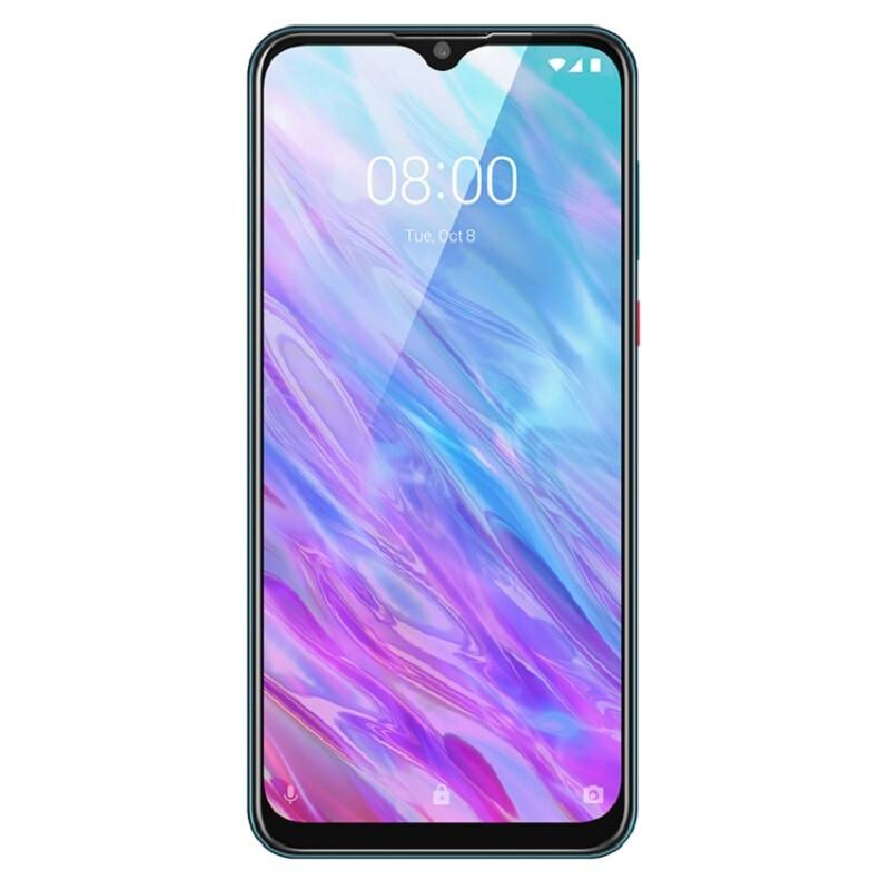"Original ZTE Lâmina 20 inteligente 4G LTE telefone celular 4GB RAM 128GB ROM Helio P60 Octa Núcleo 6,49"" Full Screen 16MP Fingerprint ID Smart Mobile Telefone"