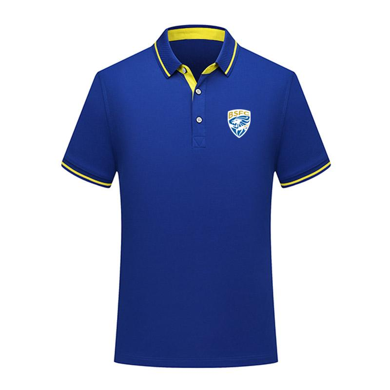 Brescia FC fútbol Polo camisa hombres fútbol manga corta polos moda deporte entrenamiento Polos fútbol fútbol camiseta Jersey hombres Polos