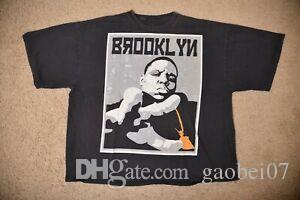 NOTORIOUS BIG Biggie Smalls Brooklyn Mint Bedford Stuyvesant Shirt da uomo 3XL