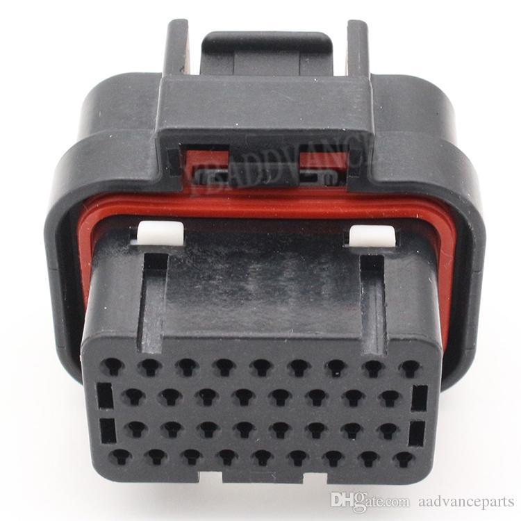 4-1437290-1 Герметичный разъем 4-контактный Tyco Amp Ecu 34 с 4-контактным разъемом