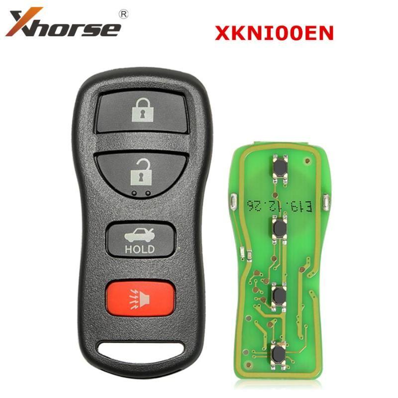 Xhorse universale Wired Remote chiave 3 + 1/4 Pulsanti per tipo per VVDI Mini Key strumento P / N XKNI00EN