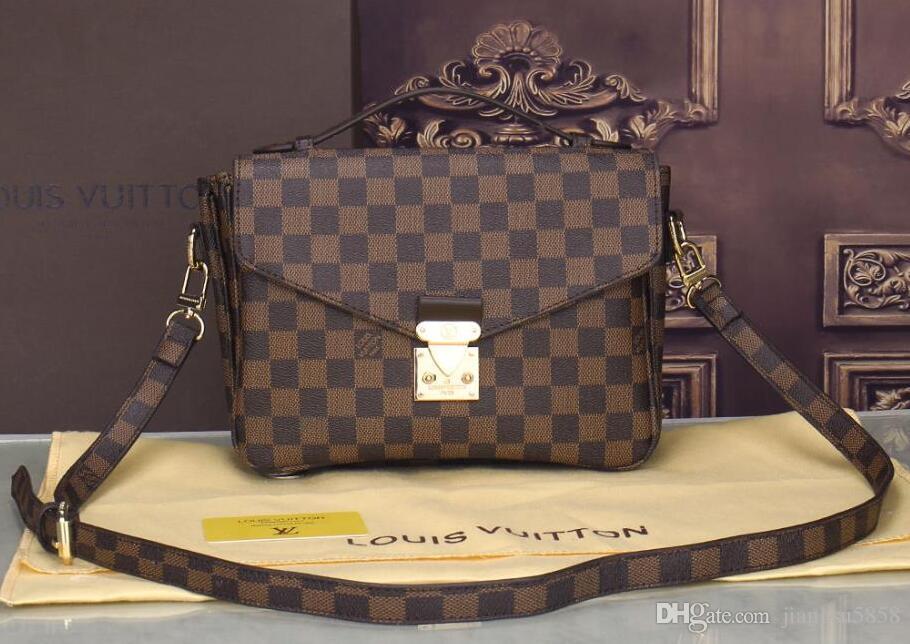 les femmes sacs à main designer de luxe en cuir véritable peau de vache sac à bandoulière sacs à main épaule messager sacoche porte-monnaie sac Chaine D56