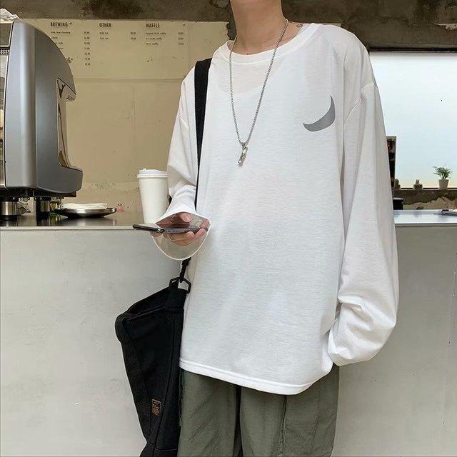 느슨한 커플 학생 재킷 인 봄과 가을 모델의 추세의 2019 새로운 남성 라운드 넥 운동복 한국어 버전