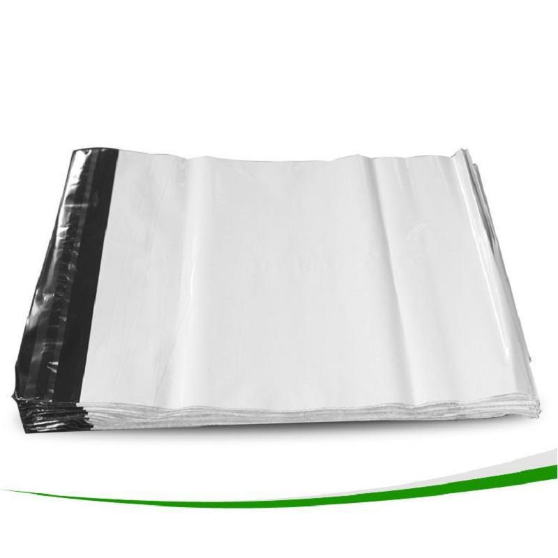 17 cm x 30 cm beyaz poli kendi kendine mühür posta çantaları plastik kurye yıkıcı poli posta kendinden yapışkanlı plastik torbalar ekspres kargo posta çantası