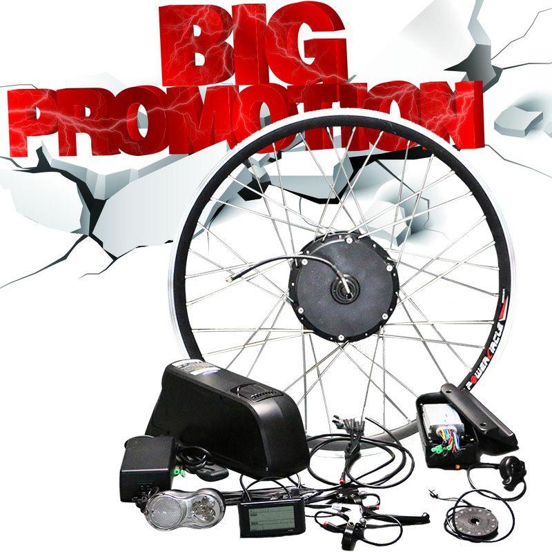48В литиевая батарея Электрический велосипед Kit 350w 500w концентратор Мотор колеса для 26 700C MTB велосипед дорожных велосипедов E Conversion Kit велосипед