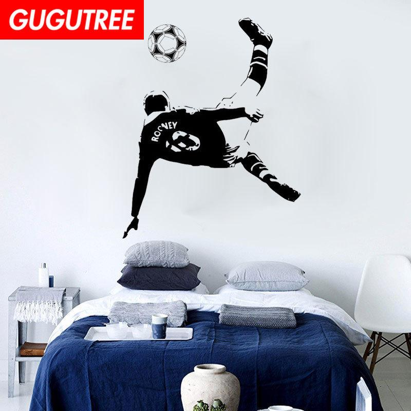 Decorate Home football cartoon art wall sticker decoration Decals mural painting Removable Decor Wallpaper G-2076