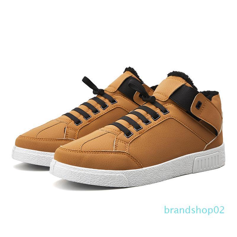 Hiver 2019 coton Chaussures Chaussures Hommes édition coréenne Loisirs Mode Conseil Chaussures en polaire étudiant Hip-hop chaud