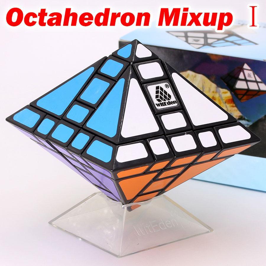لغز المكعب السحري witeen Octahedron mixup أنا الثاني الثالث شكل غريب خاص المهنية تويست المنطق لعبة اللعب هدية