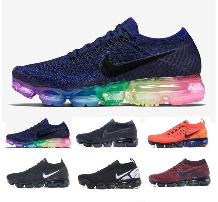 2020 Air 2.0 Maxes 1.0 Running Shoes for Mens Athletic Trainers Sports WomensVapormax Black Outdoor Sneakers Walking Shoe Online with