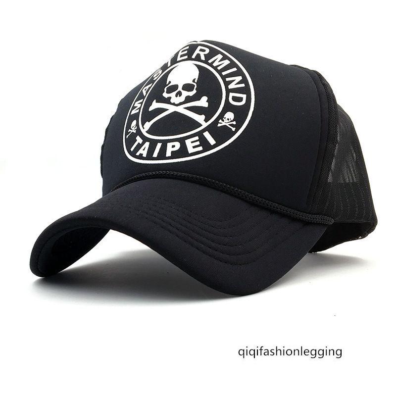 Männer und Frauen Schädel Baseball LKW Netto-Kappe