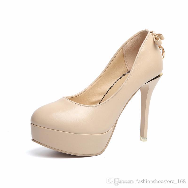 Platform Heels Stiletto Woman Party Shoe with Heel 10CM Crystal Shoes Fashion Sweet Lolita Shoes Womens High Heel Pumps Estilettos Mujer