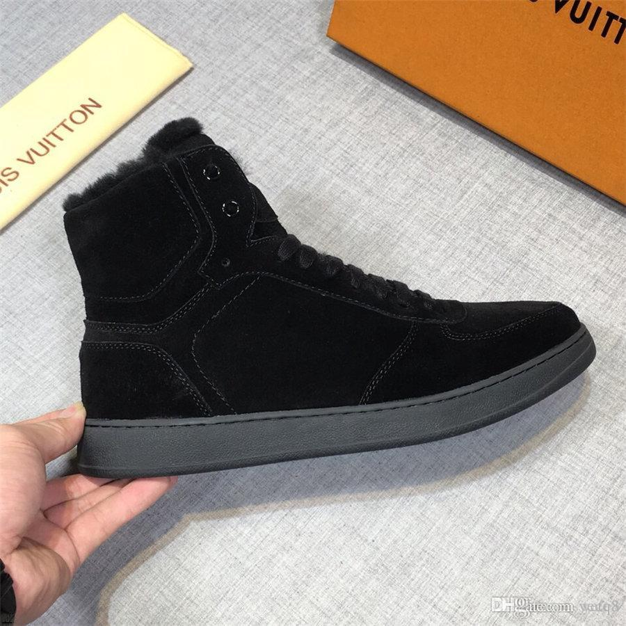 Sneakers Fashion 20FW versione coreana-Scarpe alti Martin stivali marea Men'sCasual scarpe antiscivolo-Outdoor Leisure scarpe da tennis degli uomini