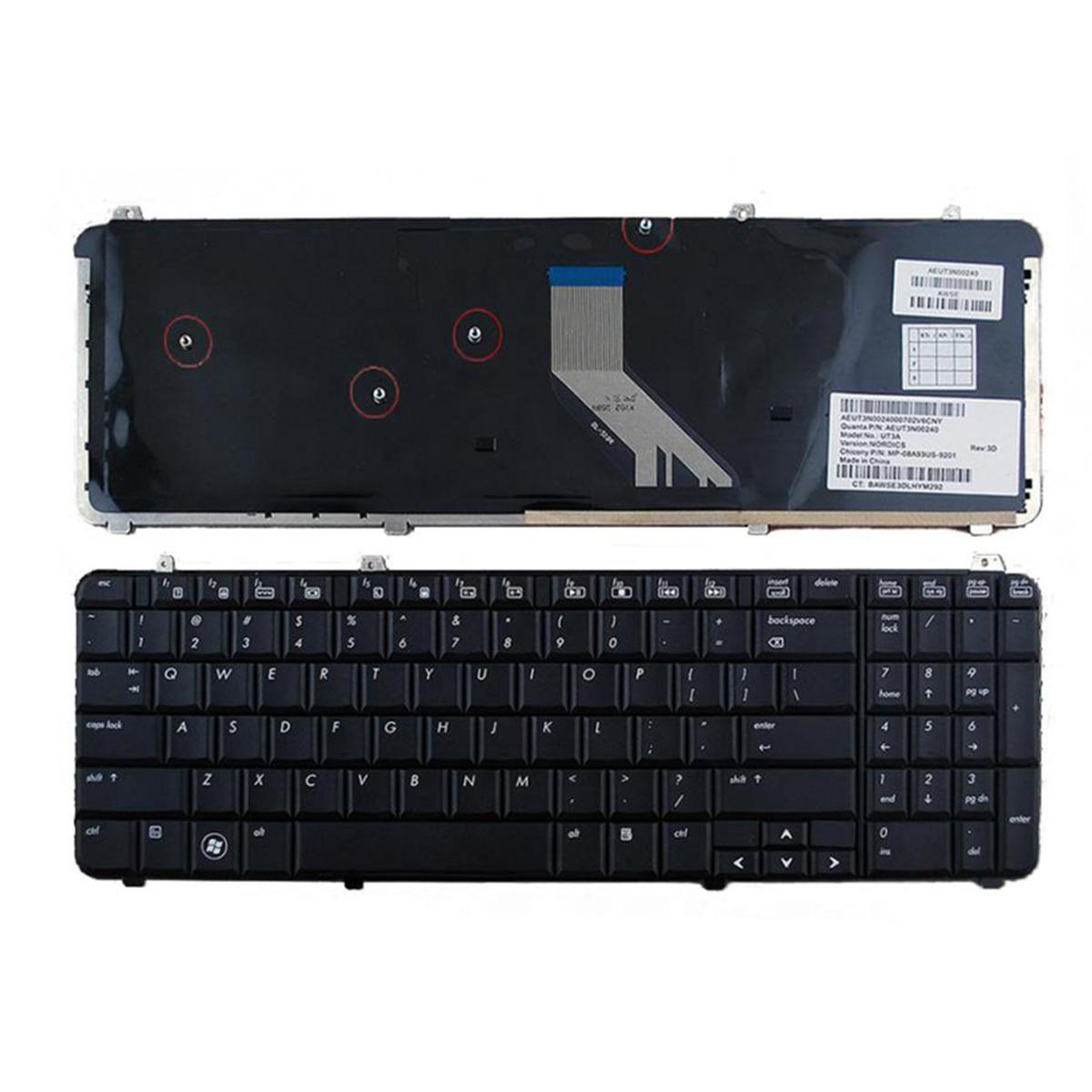 HP Pavilion DV6 dv6t dv6z DV6-1000 DV6-2000 Serisi ABD Düzeni Onarım Klavye Laptop Keyobard Değiştirme